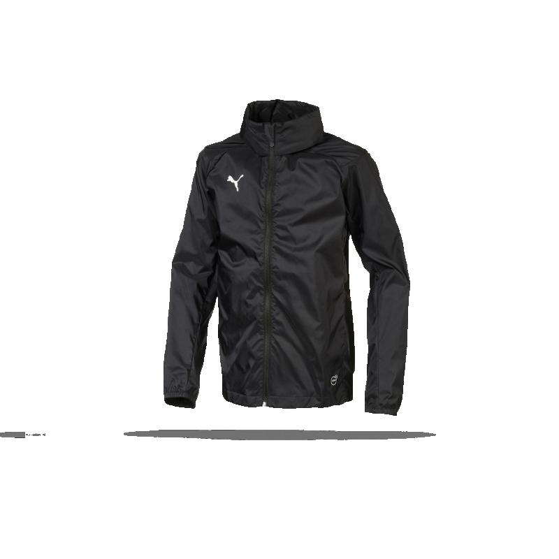 ae6a43331be7 PUMA LIGA Training Rain Core Jacket Regenjacke Kinder (003) - Schwarz