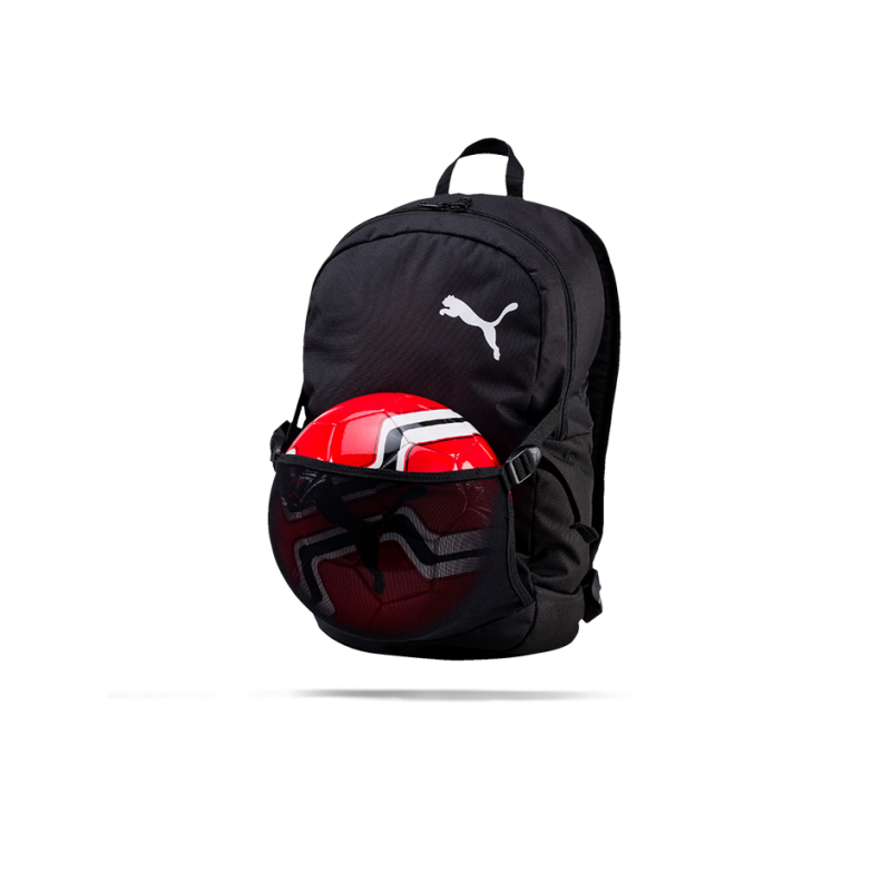 6755c4cd86c1d PUMA Pro Training II Backpack Rucksack (001) in Schwarz