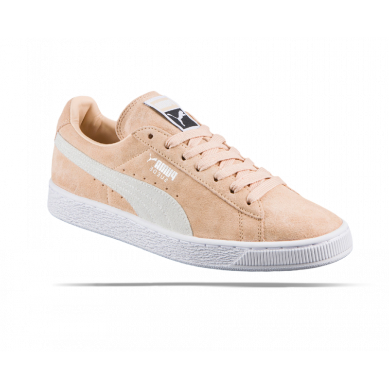 puma suede classic sneaker damen 008 in beige. Black Bedroom Furniture Sets. Home Design Ideas
