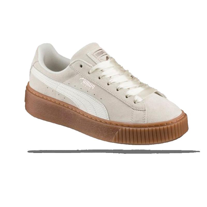 34d5864d9a50cc PUMA Suede Platform Bubble Sneaker Damen (002) in Braun