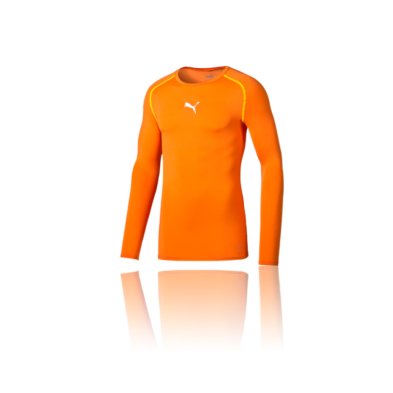 PUMA TB Longsleeve Shirt (008) - Orange