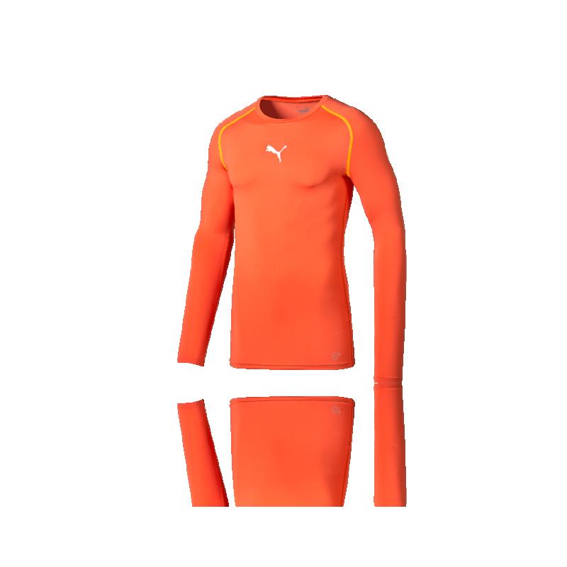 PUMA TB Longsleeve Shirt (13) - Orange
