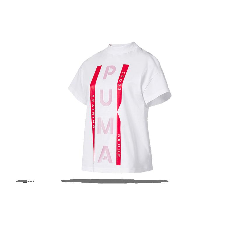 T Xtg Graphic Puma Shirt Damen002In Weiß Tee bgYy76f