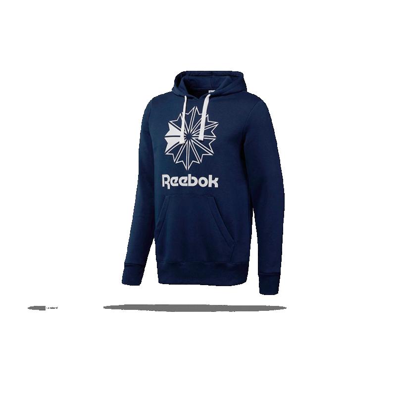 REEBOK Classics Big Logo Hoodie Kapuzensweatshirt (DT8126) - Blau