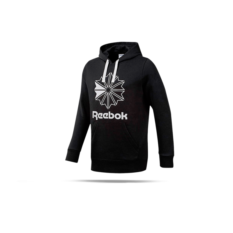 REEBOK Classics Big Logo Hoodie Kapuzensweatshirt (DT8133) - Schwarz