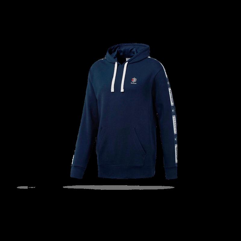 REEBOK Classics Taped Hoodie Kapuzensweatshirt (DT8154) - Blau