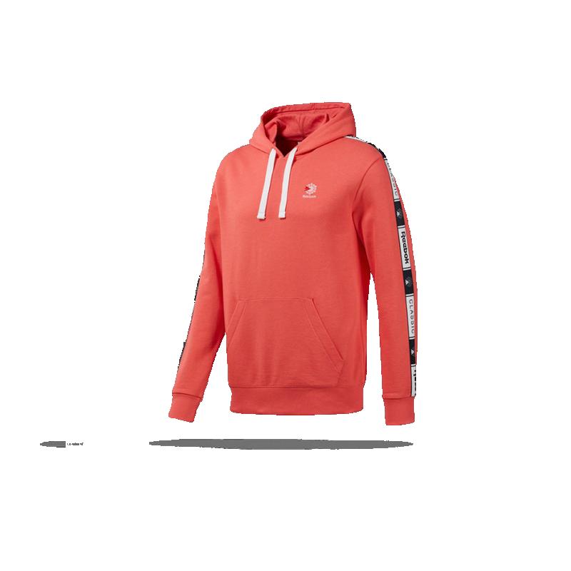 REEBOK Classics Taped Hoodie Kapuzensweatshirt (DT8155) - Orange