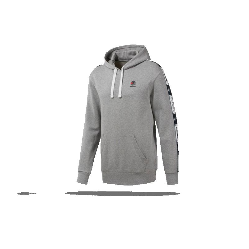 REEBOK Classics Taped Hoodie Kapuzensweatshirt (DT8156) - Grau