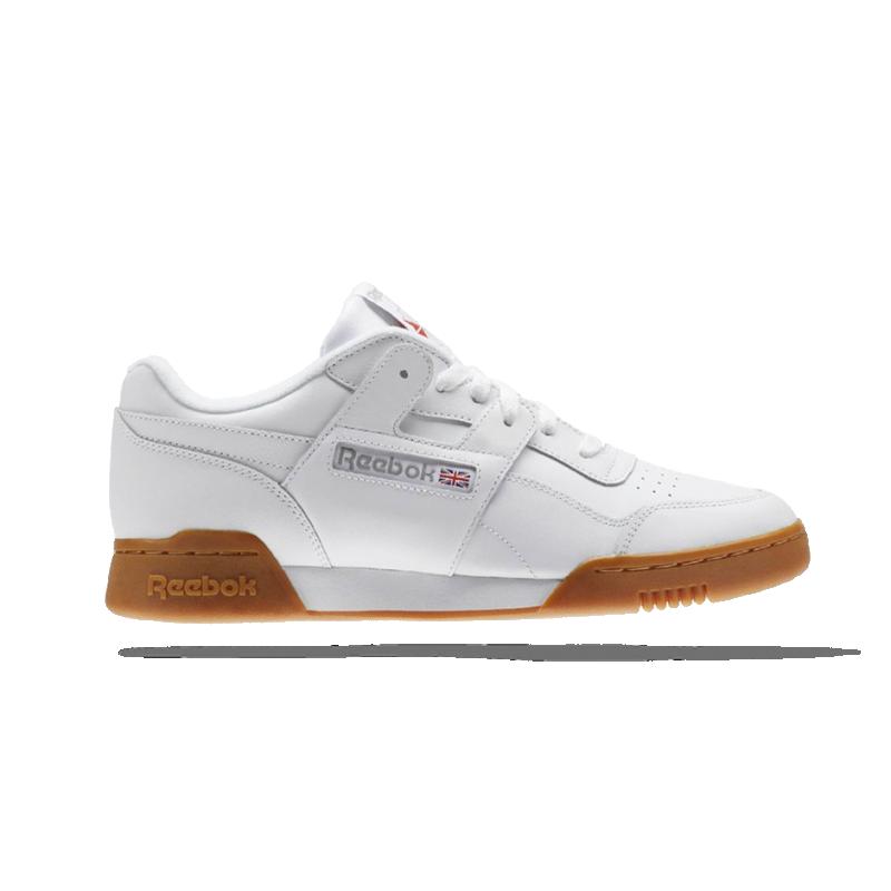 Reebok Workout Plus Herren Sneaker Weiß Schuhe