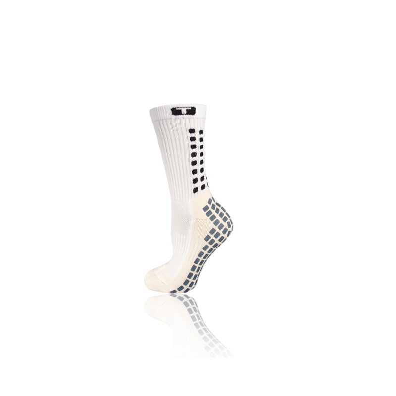 TRUSOX Mid Calf Cushion Socken - Weiß