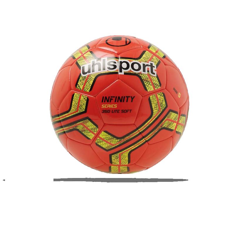 UHLSPORT Infinity Lite Soft Fussball 350g Gr. 5 (004) - Rot