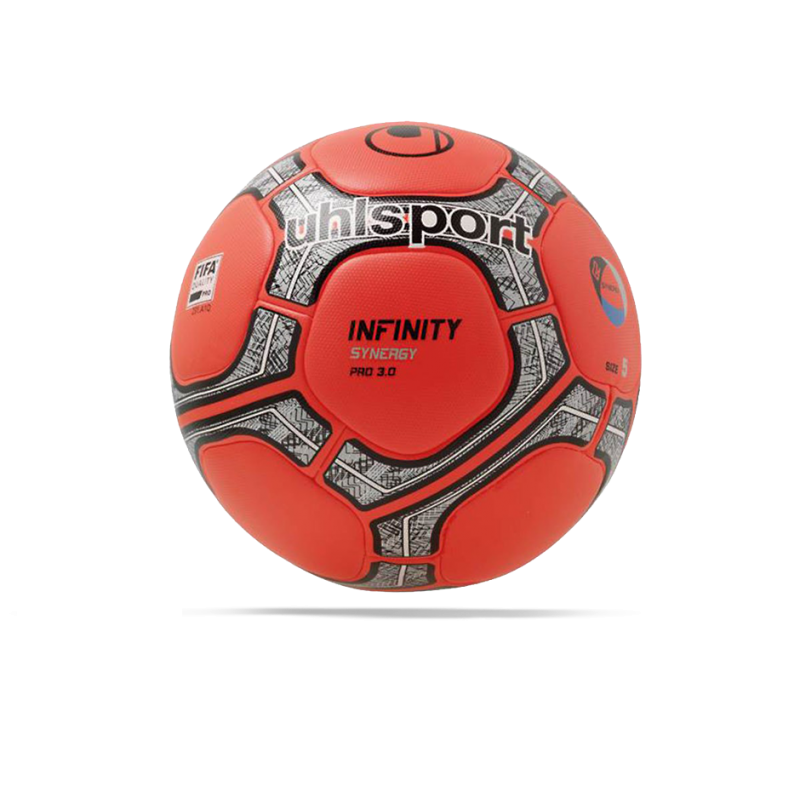 UHLSPORT Infinity Synergy Pro 3.0 Winter-Spielball Gr. 5 (00 - Rot