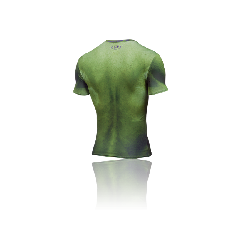 Under armour alter ego hulk comp shirt 301 in gr n for Hulk under armour compression shirt
