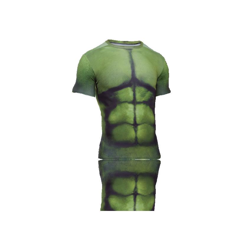Under Armour Alter Ego Hulk Comp Shirt 301 In Gr N