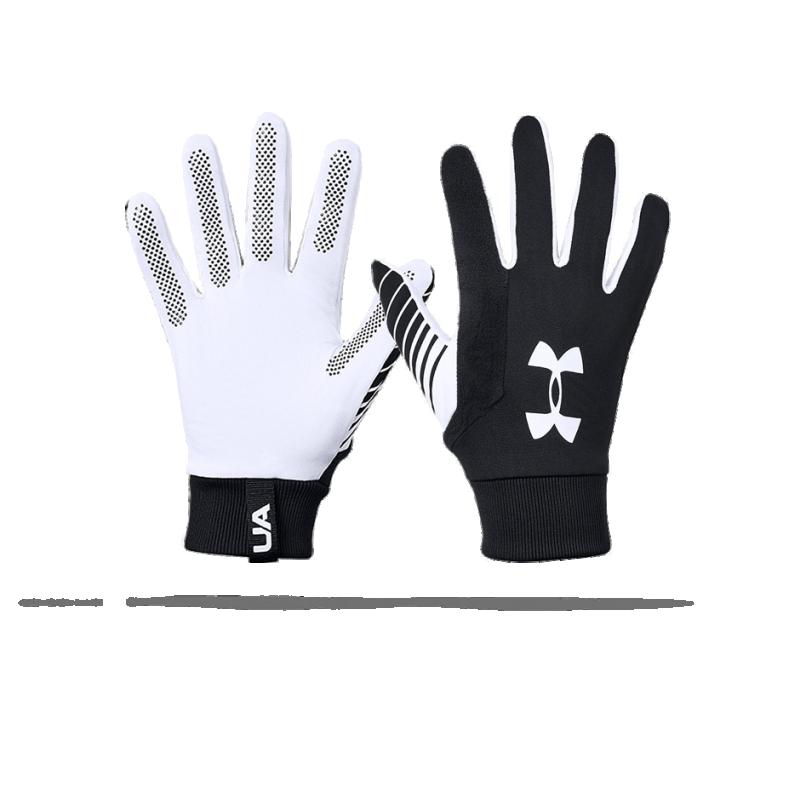 UNDER ARMOUR Feldspielerhandschuhe (001) - Schwarz