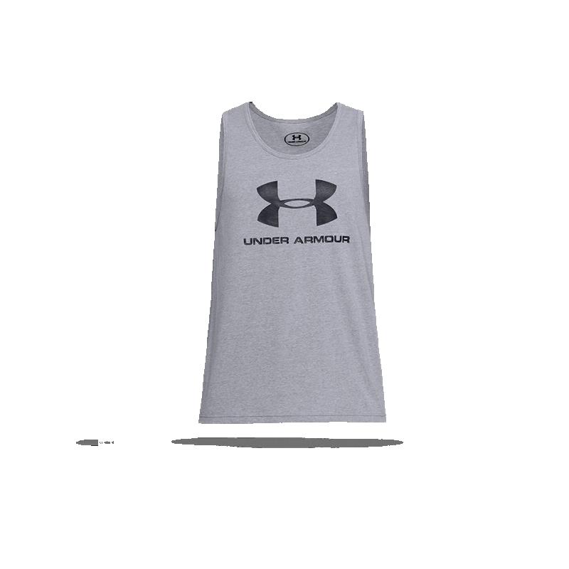 UNDER ARMOUR Sportstyle Logo Tank Top ärmellos (036) - Grau