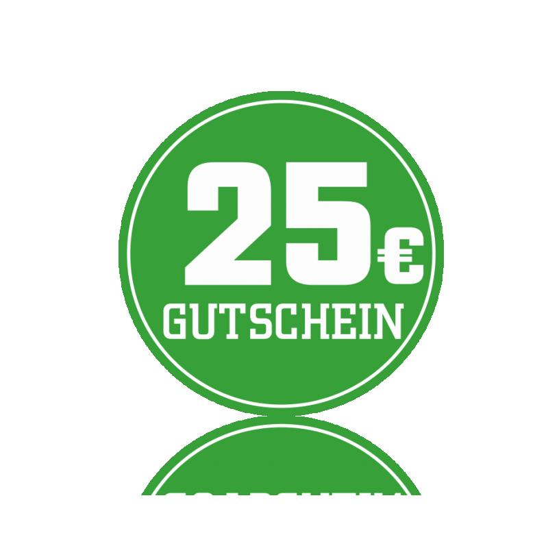 Wertgutschein 25 Euro -