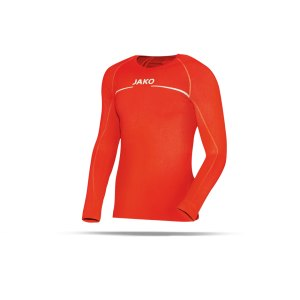 jako-longsleeve-comfort-shirt-orange-f18-langarm-trainingstop-underwear-sport-6452.png