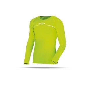 jako-longsleeve-comfort-shirt-kids-gruen-f23-langarm-trainingstop-underwear-sport-6452.png