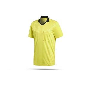 adidas-referee-18-trikot-kurzarm-gelb-fussball-teamsport-football-soccer-verein-cv6309.png