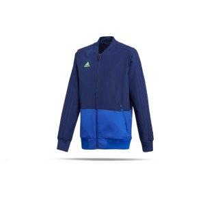 adidas-condivo-18-praesentationsjacke-kids-blau-fussball-teamsport-football-soccer-verein-cf4307.png
