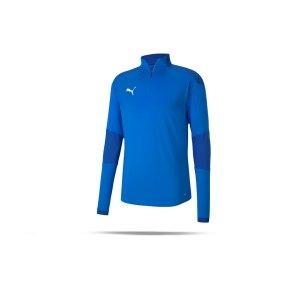 puma-teamfinal-21-training-1-4-zip-top-blau-f02-fussball-teamsport-textil-sweatshirts-656475.png
