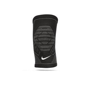 nike-pro-knitted-knee-sleeve-schwarz-grau-f031-9337-38-laufzubehoer_front.png