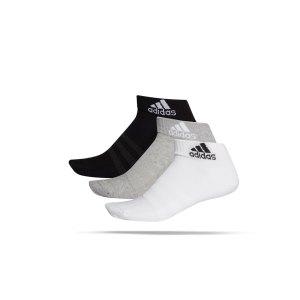 adidas-cushioned-ankle-socken-3er-pack-grau-weiss-dz9364-fussballtextilien_front.png