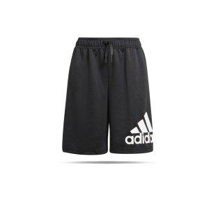 adidas-big-logo-short-kids-schwarz-weiss-gn1485-fussballtextilien_front.png