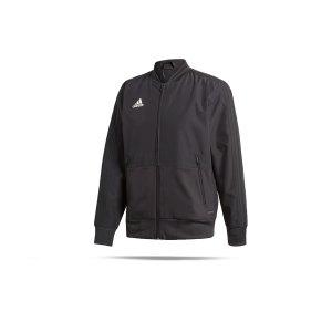 adidas-condivo-18-praesentationsjacke-schwarz-weiss-fussball-teamsport-football-soccer-verein-cf4305.png