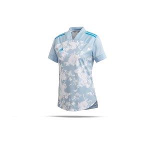 adidas-condivo-20-trikot-kurzarm-damen-blau-fussball-teamsport-textil-trikots-fp9394.png