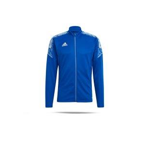 adidas-condivo-21-trainingsjacke-kids-blau-weiss-gh7140-teamsport_front.png