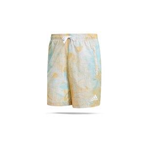 adidas-essentials-short-blau-rosa-weiss-gk9620-fussballtextilien_front.png