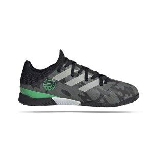 adidas-gamemode-knit-in-halle-j-kids-schwarz-grau-s42830-fussballschuh_right_out.png