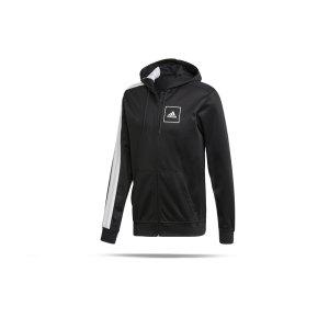 adidas-pique-3-stripes-kapuzenjacke-schwarz-fussball-textilien-jacken-fl3607.png