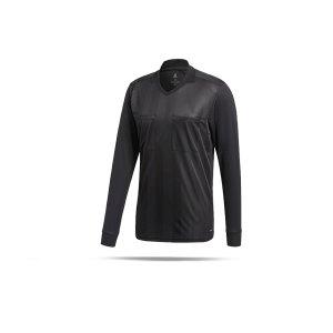 adidas-referee-18-trikot-langarm-schwarz-fussball-teamsport-football-soccer-verein-cf6215.png