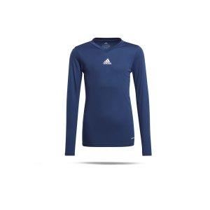 adidas-team-base-top-langarm-kids-blau-gn5712-underwear_front.png