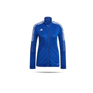 adidas-tiro-21-trainingsjacke-damen-blau-gm7304-teamsport_front.png