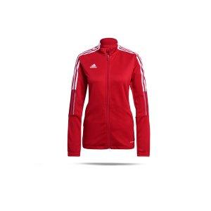 adidas-tiro-21-trainingsjacke-damen-rot-gm7305-teamsport_front.png