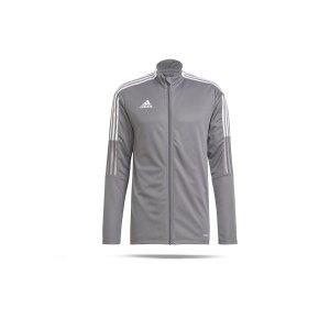 adidas-tiro-21-trainingsjacke-grau-gm7306-teamsport_front.png