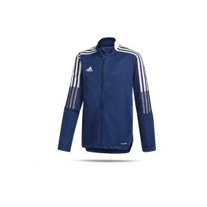 adidas-tiro-21-trainingsjacke-kids-dunkelblau-gk9662-teamsport_front.png
