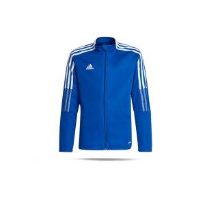 adidas-tiro-21-trainingsjacke-kids-blau-gm7315-teamsport_front.png