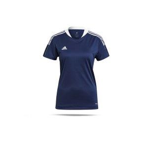 adidas-tiro-21-trainingsshirt-damen-dunkelblau-gm7579-teamsport_front.png