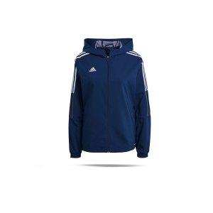 adidas-tiro-21-windbreaker-damen-dunkelblau-gp4968-teamsport_front.png