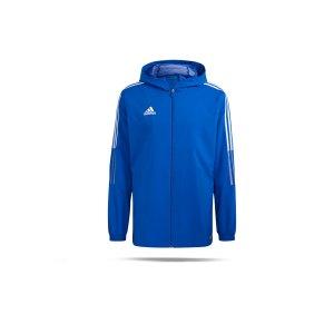 adidas-tiro-21-kapuzenjacke-blau-gp4963-teamsport_front.png
