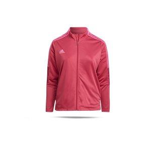 adidas-tiro-trainingsjacke-plus-size-damen-pink-gn2166-fussballtextilien_front.png