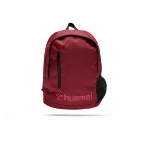 hummel-core-back-pack-rucksack-rot-f3583-206996-equipment_front.png