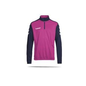 hummel-core-halfzip-sweatshirt-kids-blau-f8623-136895-teamsport_front.png