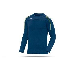 jako-classico-sweatshirt-blau-gelb-f42-trainingswear-sweater-trainingsshirt-teamausstattung-8850.png