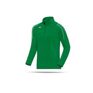 jako-classico-ziptop-kids-gruen-weiss-f06-zipper-sporttop-trainingstop-sportpulli-teamsport-8650.png